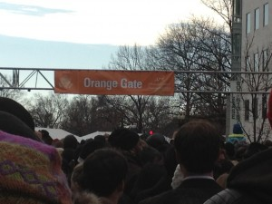 There's the ORANGE Gate! :-)